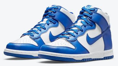 Nike Dunk Hi Retro Game Royal Front