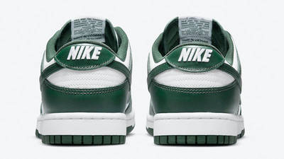 Nike Dunk Low Retro Team Green Back