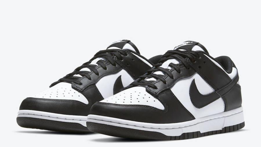 Nike Dunk Low Retro White Black Front