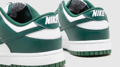 Nike Dunk Low Spartan Green Detailed Look Back