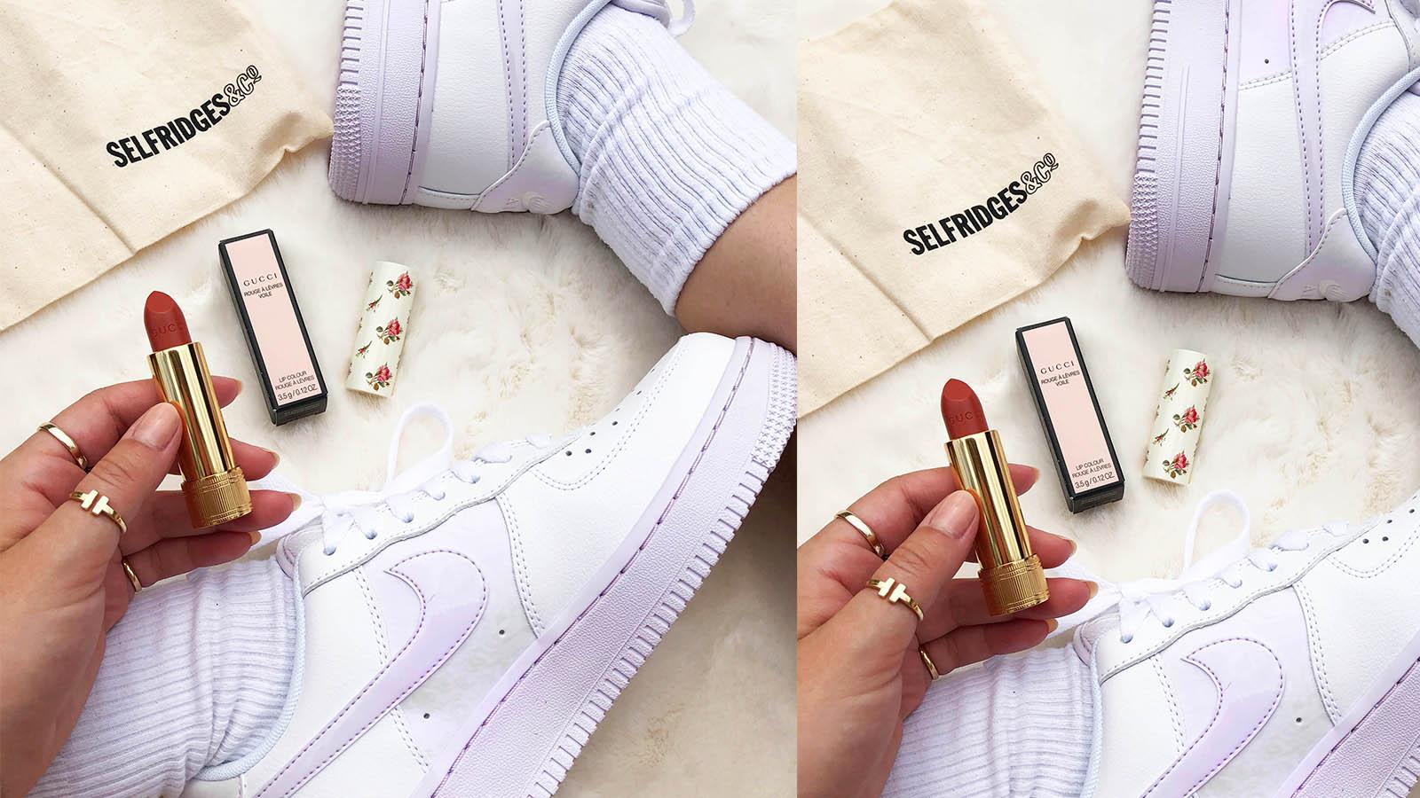 tegan gucci lipstick