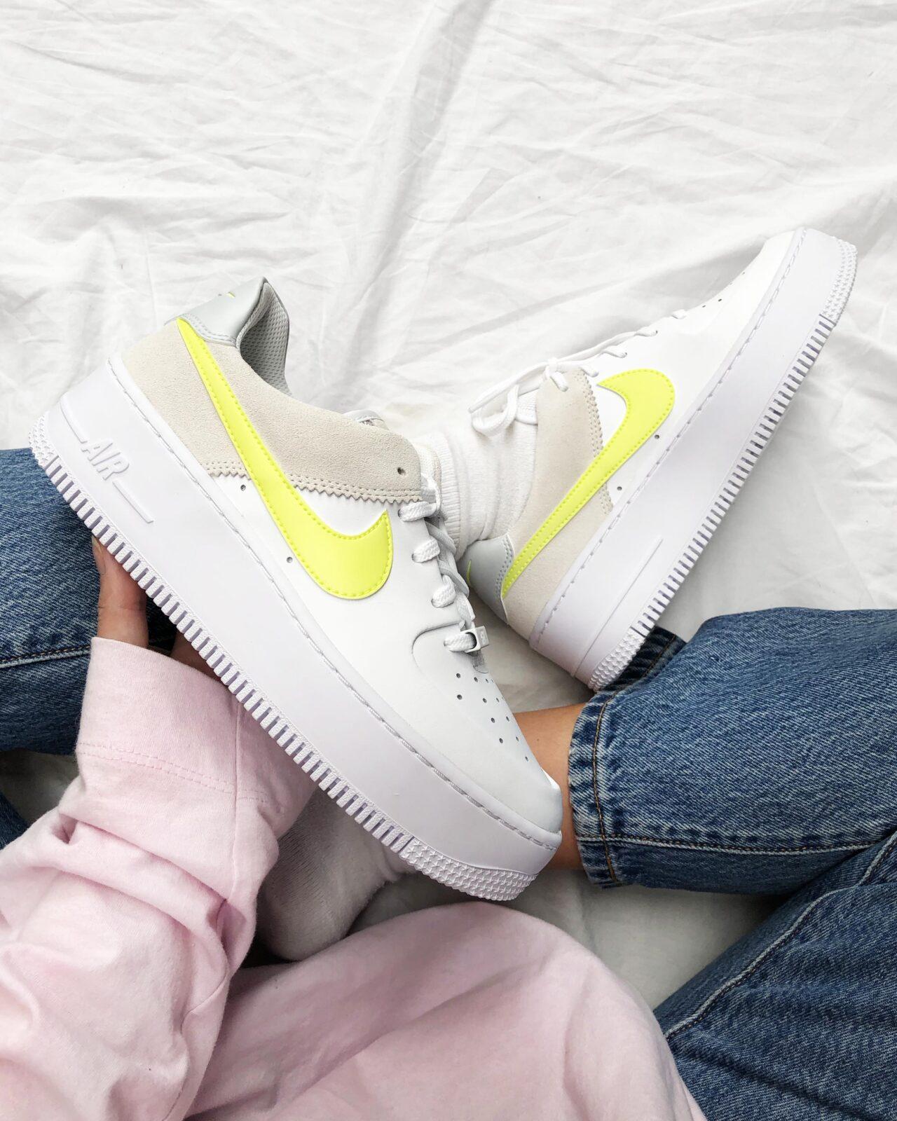 Nike Air Force 1 Sage In Lemon Venom