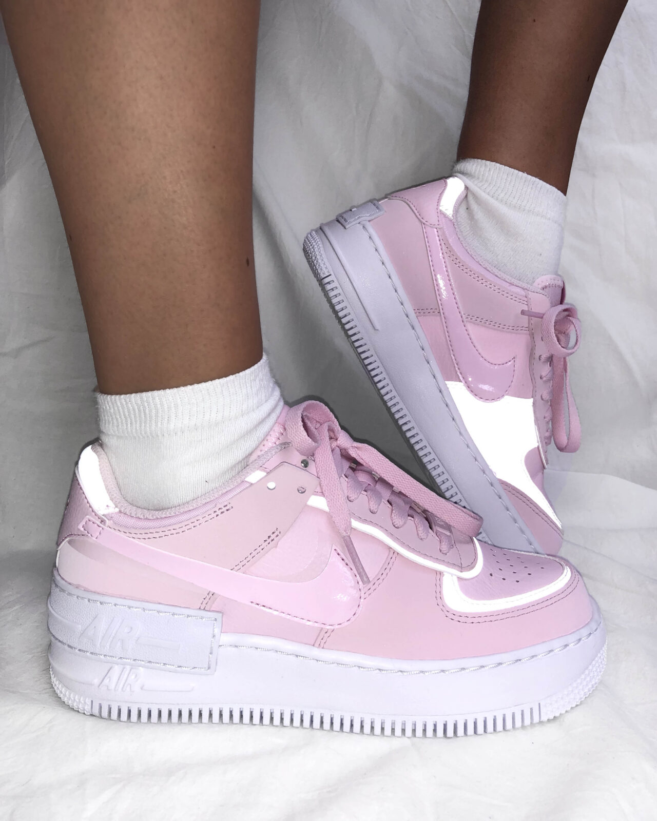 Sneaker Of The Week The Nike Air Force 1 Shadow Pink Foam