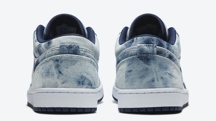 Air Jordan 1 Low Washed Denim