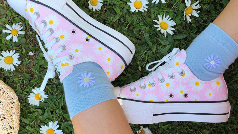 Converse All Star Low Daisy