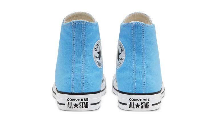 Converse Chuck Taylor All Star Hi Seasonal Colour Blue Back thumbnail image
