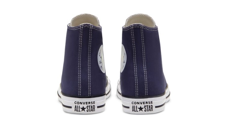 Converse Chuck Taylor All Star Hi Seasonal Colour Blue Back thumbnail image