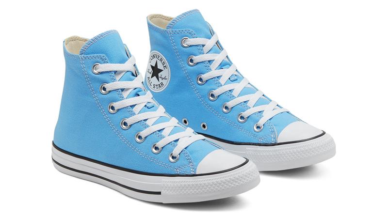 Converse Chuck Taylor All Star Hi Seasonal Colour Blue Front