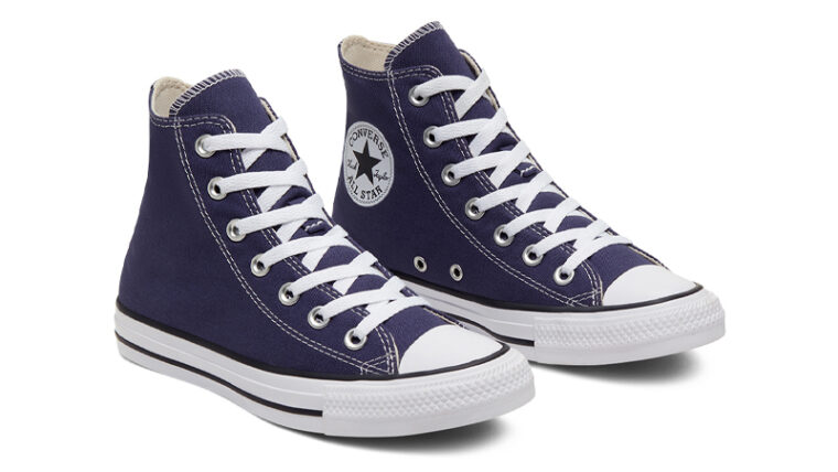 Converse Chuck Taylor All Star Hi Seasonal Colour Blue Front thumbnail image