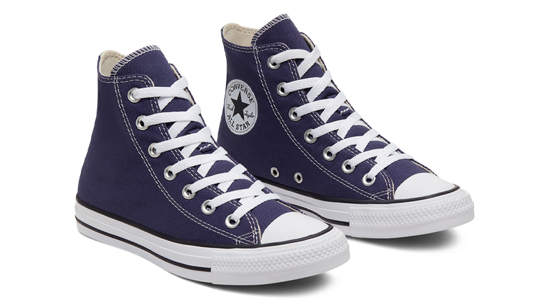 Converse Chuck Taylor All Star Hi Seasonal Colour Blue Front
