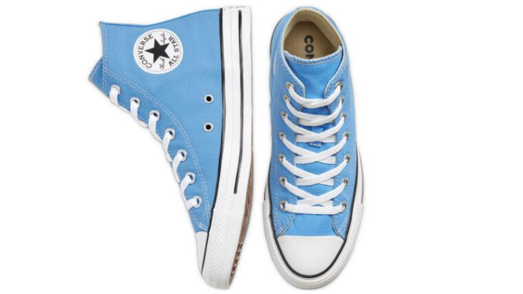 Converse Chuck Taylor All Star Hi Seasonal Colour Blue Middle thumbnail image