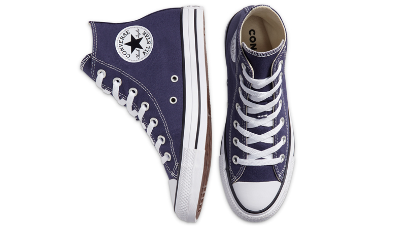Converse Chuck Taylor All Star Hi Seasonal Colour Blue Middle