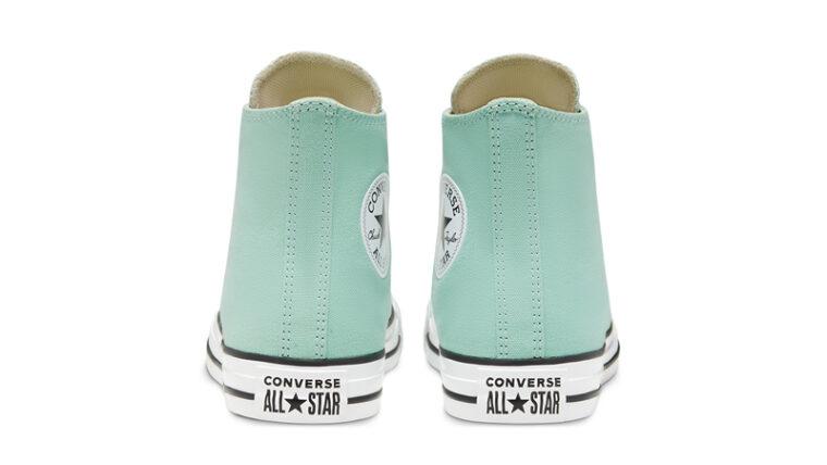 Converse Chuck Taylor All Star Hi Seasonal Colour Ocean Mint Back thumbnail image