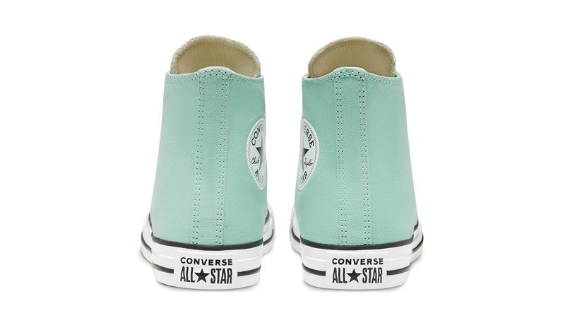 Converse Chuck Taylor All Star Hi Seasonal Colour Ocean Mint Back