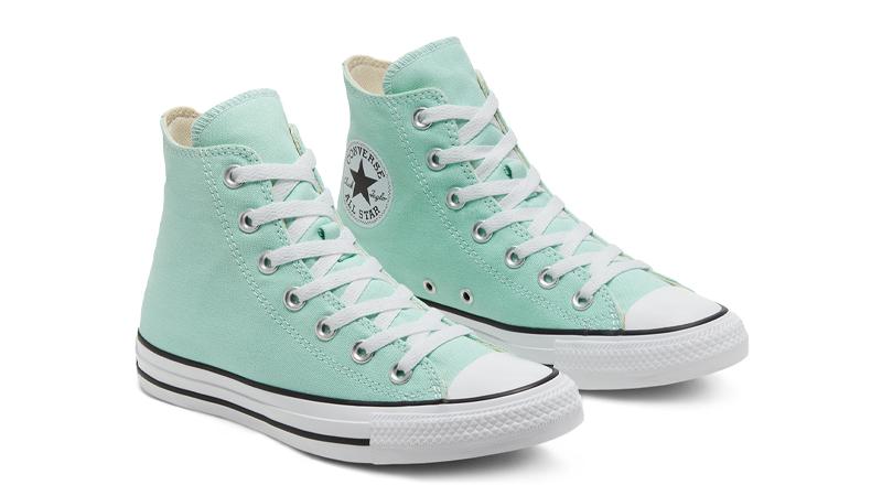 Converse Chuck Taylor All Star Hi Seasonal Colour Ocean Mint Front