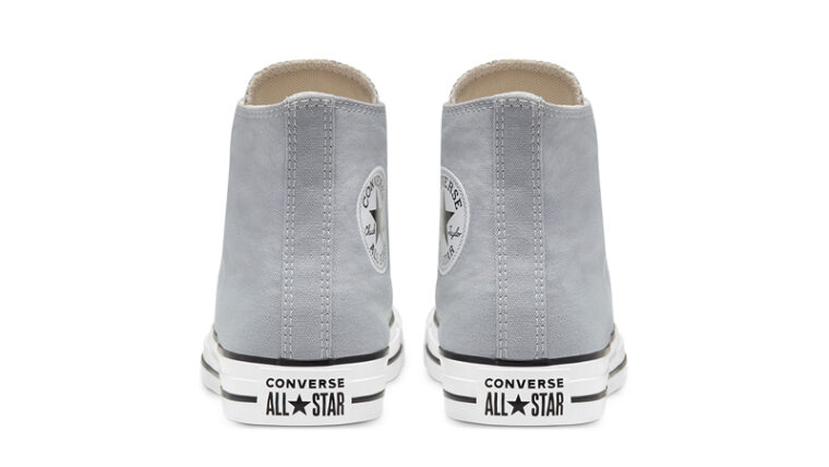 Converse Chuck Taylor All Star Hi Seasonal Colour Wolf Grey Back thumbnail image