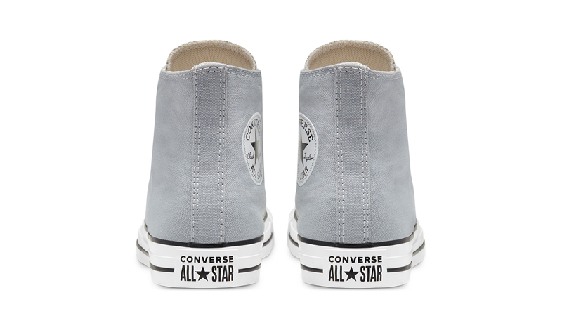 Converse Chuck Taylor All Star Hi Seasonal Colour Wolf Grey Back