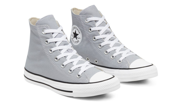 Converse Chuck Taylor All Star Hi Seasonal Colour Wolf Grey Front thumbnail image