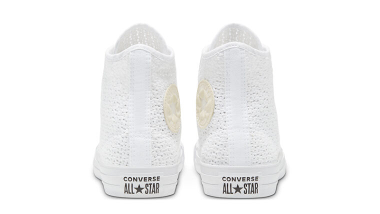 Converse Chuck Taylor All Star High Top Summer Getaway White Barely Volt Back thumbnail image