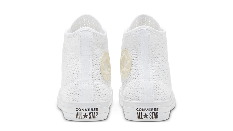 Converse Chuck Taylor All Star High Top Summer Getaway White Barely Volt Back
