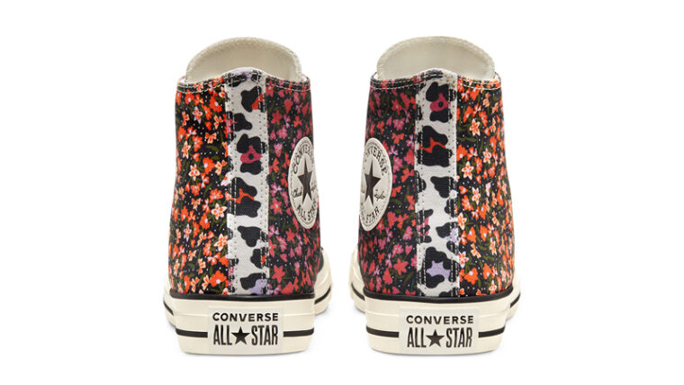 Converse Chuck Taylor All Star High Top Twisted Summer Egret Pink Back thumbnail image