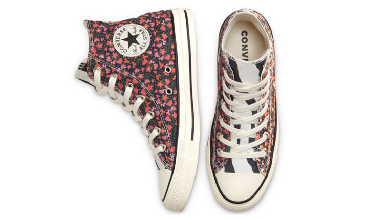 Converse Chuck Taylor All Star High Top Twisted Summer Egret Pink Middle thumbnail image