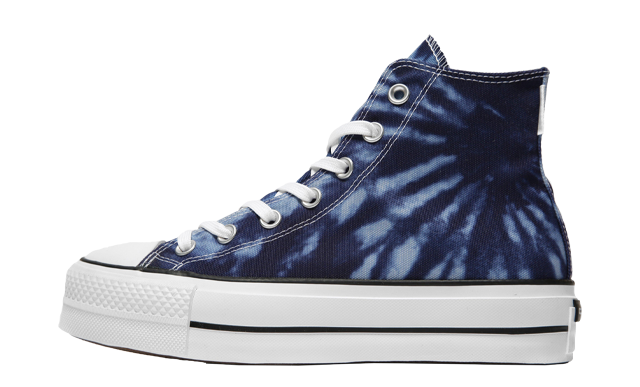 Converse Chuck Taylor All Star Lift High Top Tie Dye