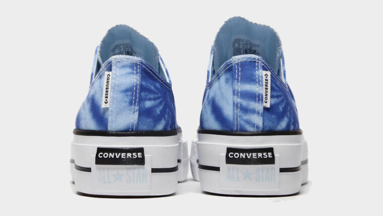Converse Chuck Taylor All Star Ox 70s Blue Tie Dye Back thumbnail image
