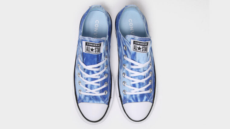 Converse Chuck Taylor All Star Ox 70s Blue Tie Dye Middle thumbnail image