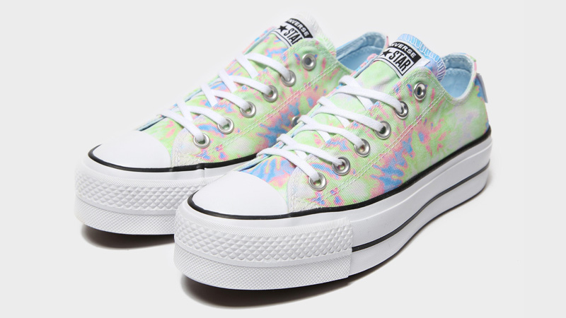 Converse Chuck Taylor All Star Ox Lift Multi Tie Dye Front