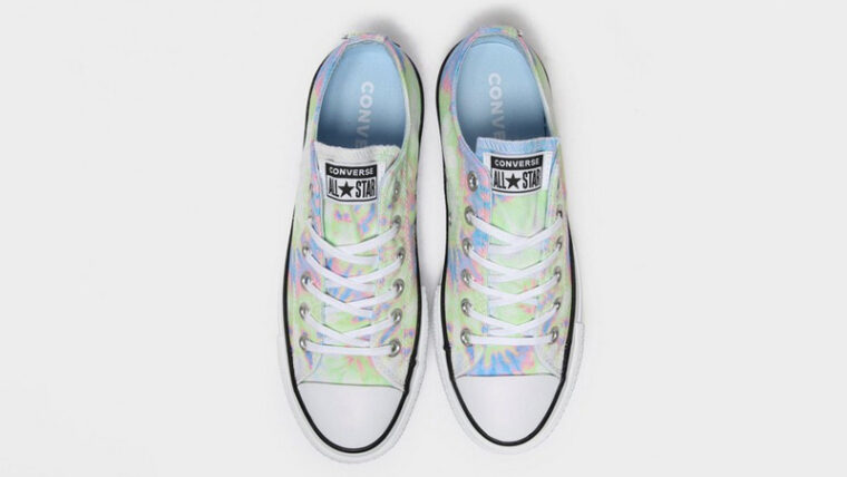 Converse Chuck Taylor All Star Ox Lift Multi Tie Dye Middle thumbnail image