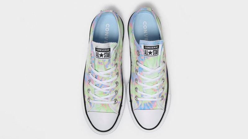 Converse Chuck Taylor All Star Ox Lift Multi Tie Dye Middle