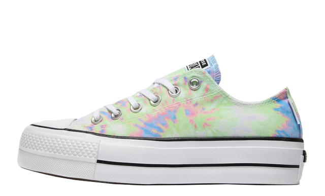 Converse Chuck Taylor All Star Ox Lift Multi Tie Dye
