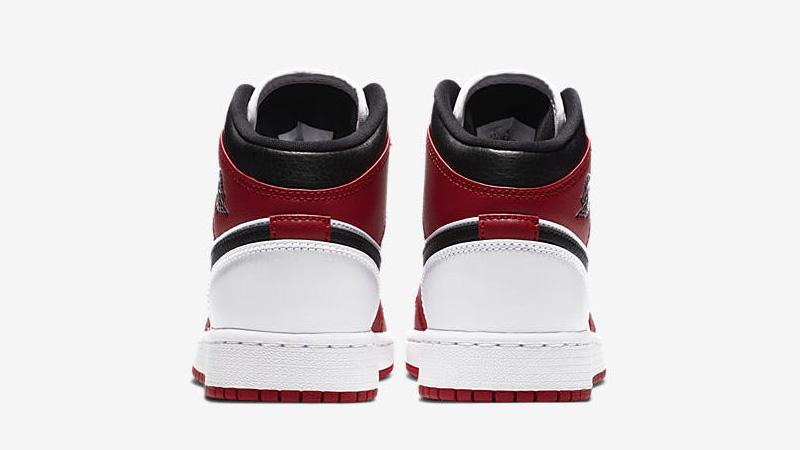Jordan 1 Mid GS Gym Red Back