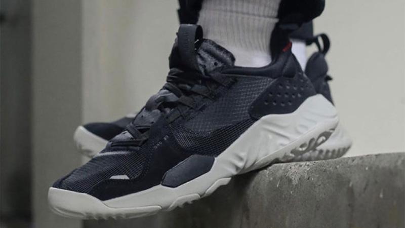 Jordan Delta SP Black On Foot