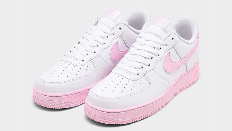 Nike Air Force 1 07 Pink Foam Front thumbnail image