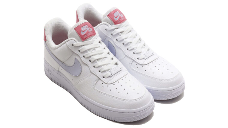Nike Air Force 1 07 White Desert Berry Front thumbnail image