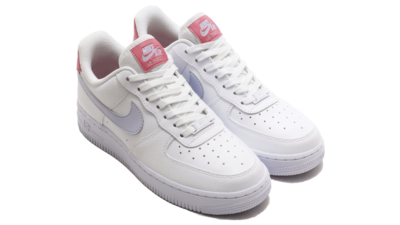 Nike Air Force 1 07 White Desert Berry Front
