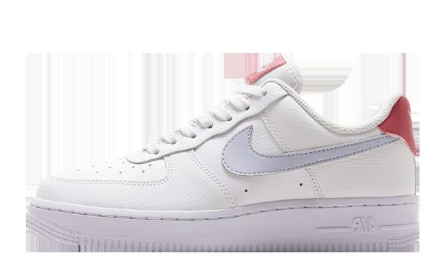 Nike Air Force 1 07 White Desert Berry