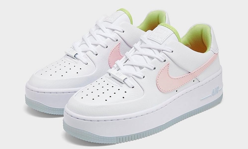 The Nike Air Force 1 Sage Gets A Pretty Pastel Makeover Upcoming