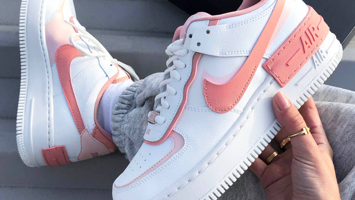 Free Giveaway Win The Coveted Nike Air Force 1 Shadow Pink Quartz The Sole Womens Check out our nike air force 1 pink selection for the very best in unique or custom, handmade pieces from our shoes shops. free giveaway win the coveted nike air