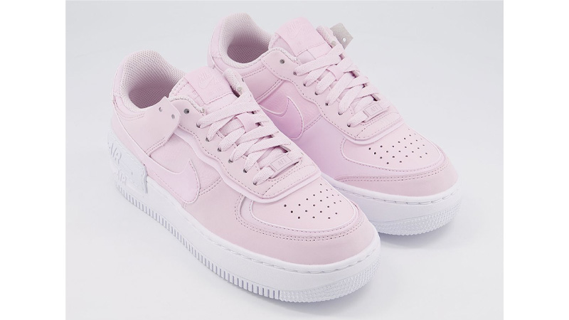 Nike Air Force 1 Shadow Pink Foam The Sole Womens
