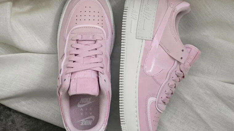 Nike Air Force 1 Shadow Pink Foam Lifestyle Middle thumbnail image