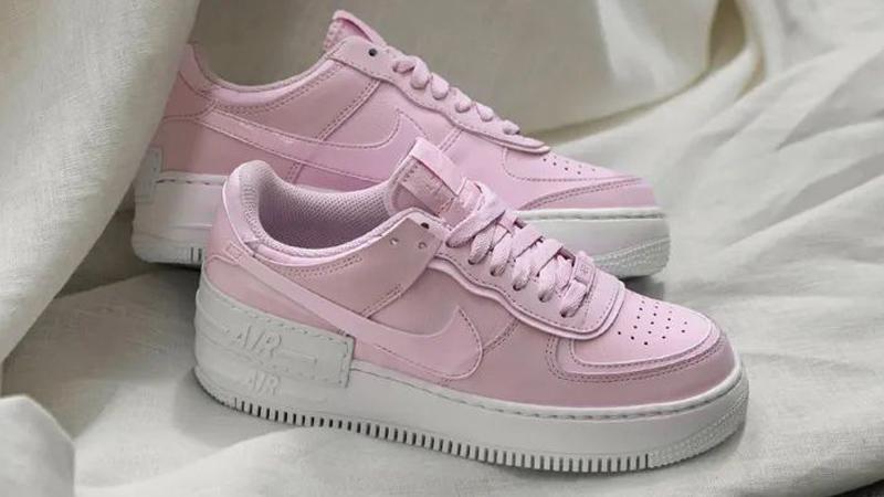 Nike Air Force 1 Shadow Pink Foam Lifestyle