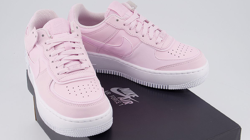 Nike Air Force 1 Shadow Pink Foam On Box