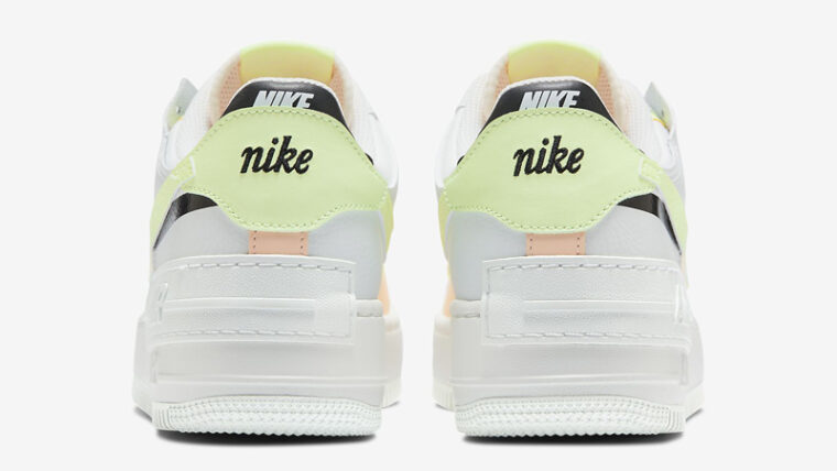 Nike Air Force 1 Shadow Summit White Crimson Tint Back thumbnail image