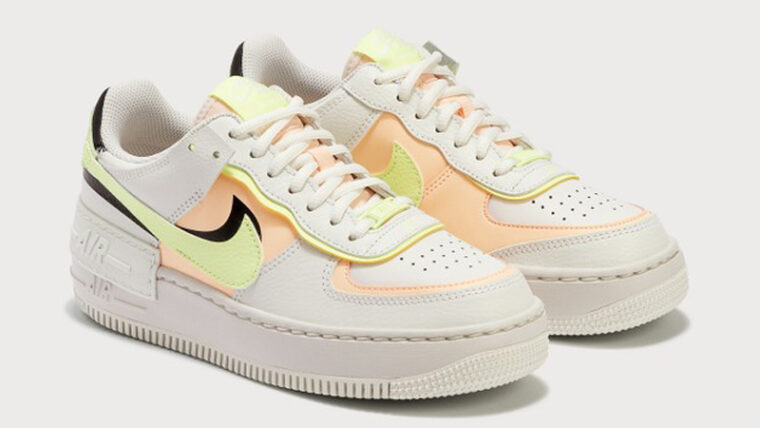 Nike Air Force 1 Shadow Summit White Crimson Tint Front thumbnail image