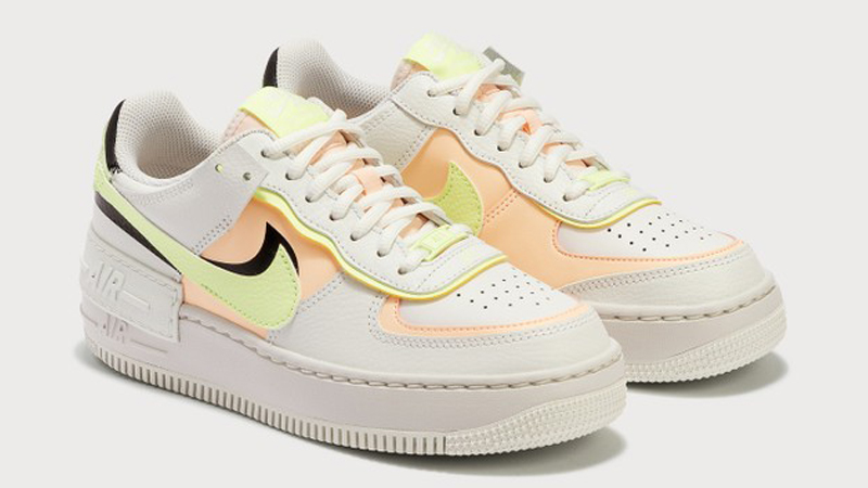 Nike Air Force 1 Shadow Summit White Crimson Tint Front