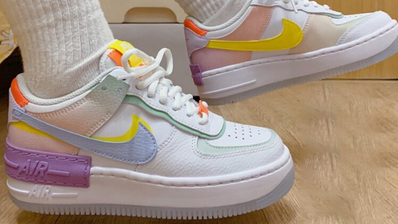 Nike Air Force 1 Shadow White Hydrogen Blue Where To Buy Cw2630 141 The Sole Womens #brands #fashion #nike #air #force #diamond #minecraft. nike air force 1 shadow white hydrogen blue