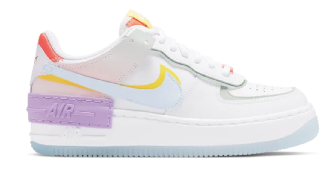 air force 1 shadow rainbow